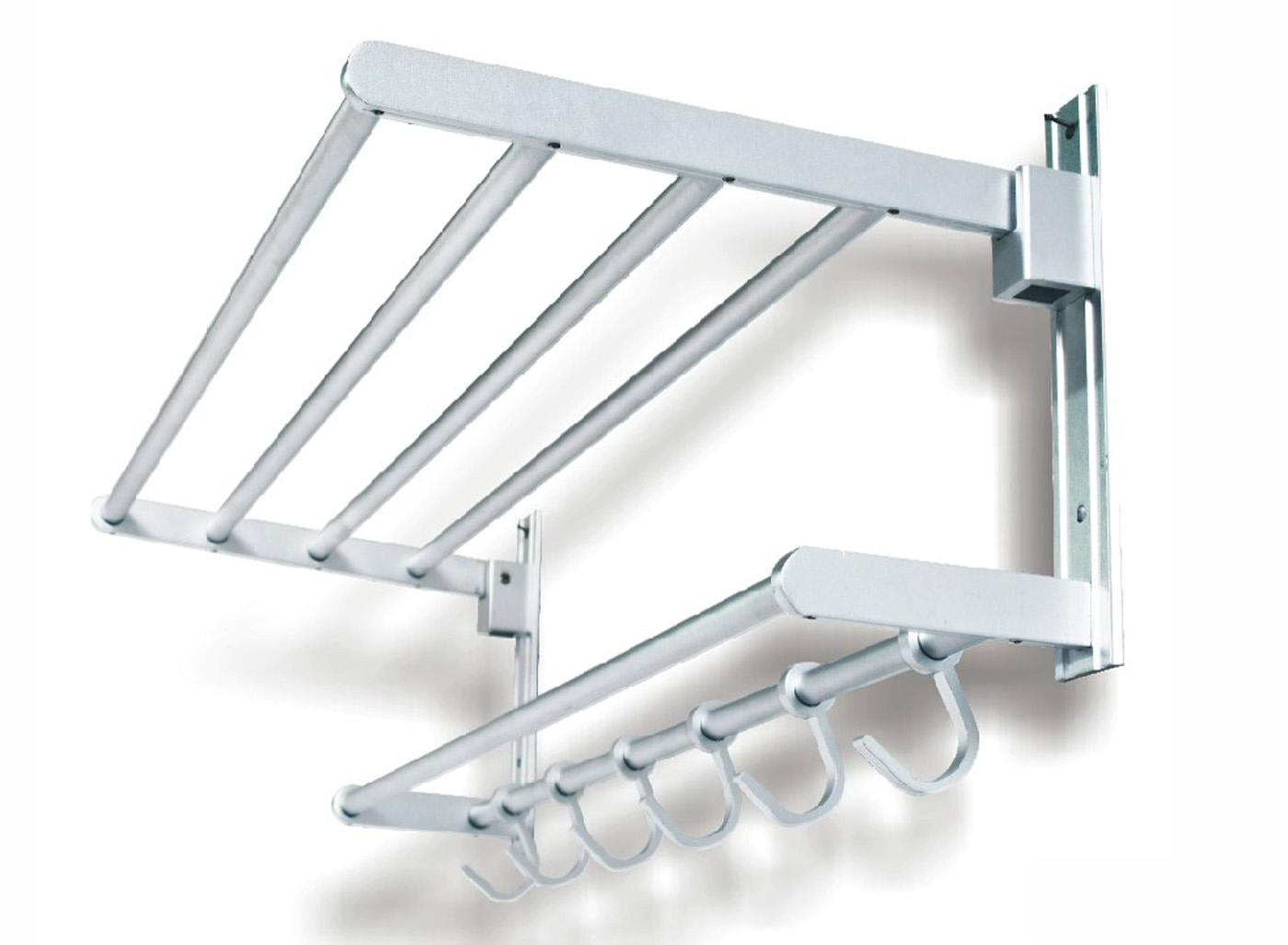 Space aluminum bathroom hardware, hardware hanger, bathroom towel rack 5