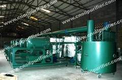 Oil Purifier Machine Refine black engine oil to yellow base oil