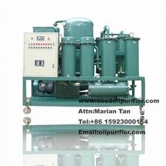 ZJD Hydraulic Vacuum Oil Filtration machine