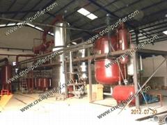 DIR廢潤滑油再生基礎油蒸餾設備