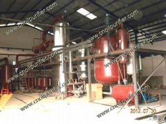 DIR Black Engine Oil Vacuum Distillation and Waste Oil Treatment Equipment