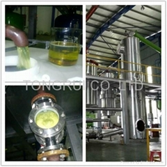 DIR Waste Engine Oil Purifier Vacuum Distillation Equipment