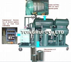 ZJD-F Light Fule Oil Purifier Machine/Light diesel oil Filtration Equipment