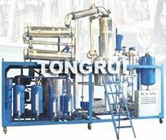 Black Engine Oil distllation Regeneration Equipment/change black oil to base oil
