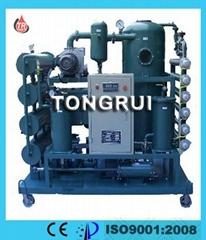 ZJR Multi-functional Double-stage Vacuum Transformer Oil Regenerating machine