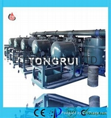 NRY Used Engine Oil Regeneration machine,Motor Oil Recycling Equipment with ISO