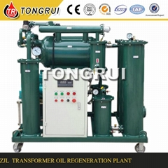 Multi-function Insulation Oil Filtration equipment dehydrator,change color