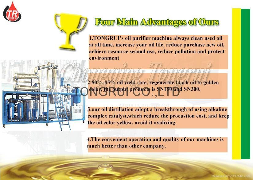 advance of distillation machine