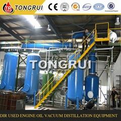 Black Diesel Oil Refinery Distillation Equipment