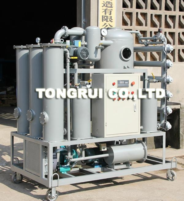 ZJR-100 Multifunctional Double-stage Vacuum Transformer Oil Decolor Regeneration 3