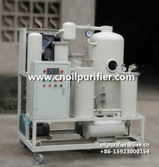 hydraulic oil purifying equipment high precison lube oil machine oil recycling