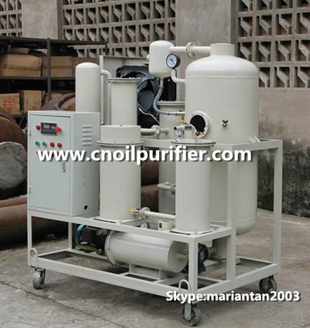 hydraulic oil purifying equipment high precison lube oil machine oil recycling 4