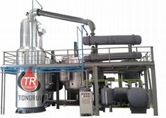 used oil reycling professional profitable investment black oil distillation