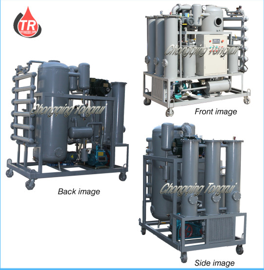 ZJR-100 Multifunctional Double-stage Vacuum Transformer Oil Decolor Regeneration 2