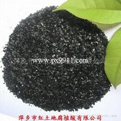 晶体片状腐植酸钾