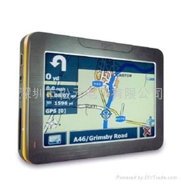 4.3'' Portable gps navigation  1