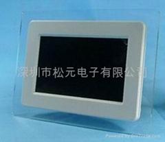 7 inch TFT screen DPF