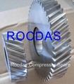 Air compressor  Gearwheels