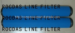 Air compressor LINE FILTER ELEMENT