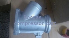 Air compressor  Inlet valve assembly