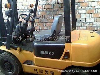 杭州收舊叉車 1