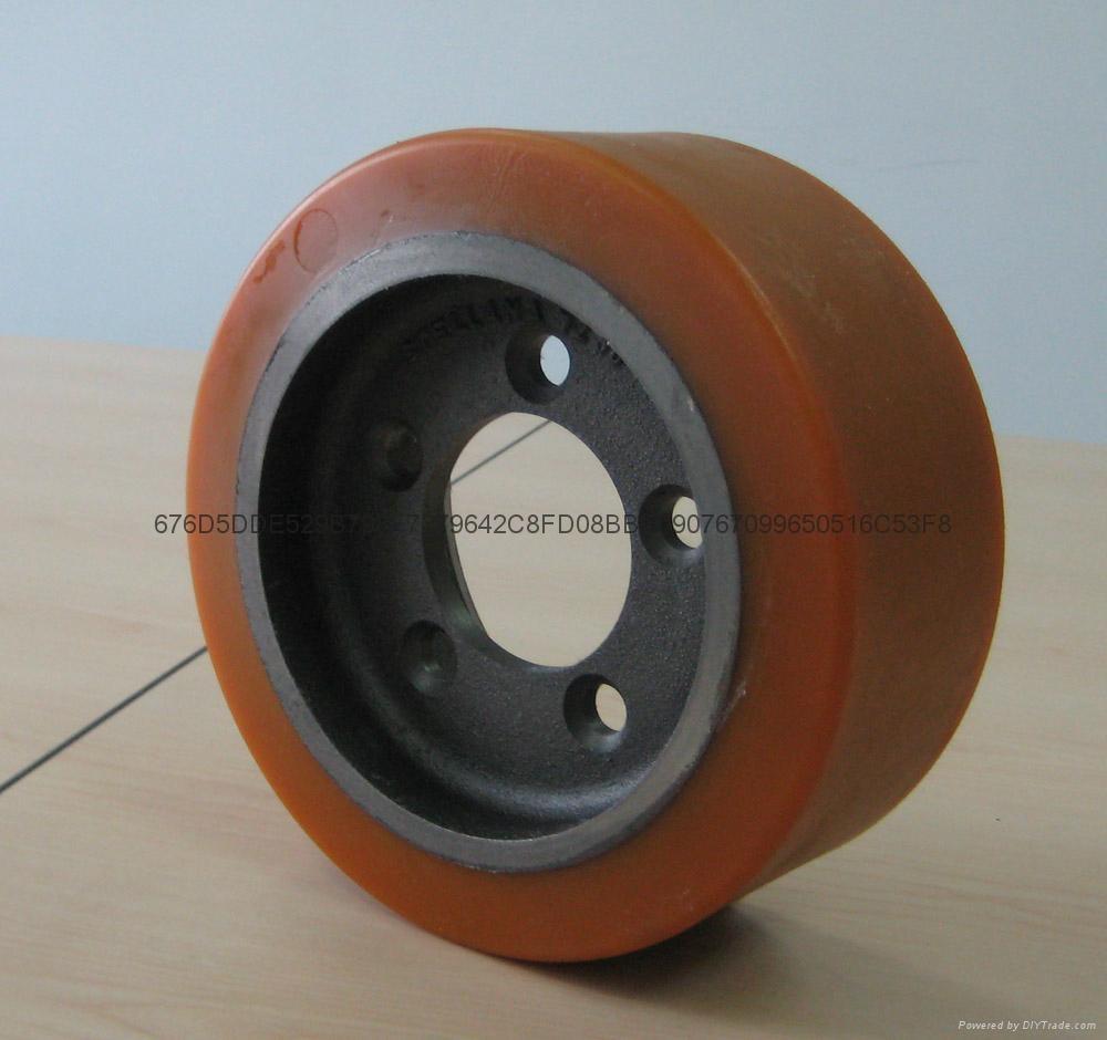 林德L14AP托盘车轮子 4