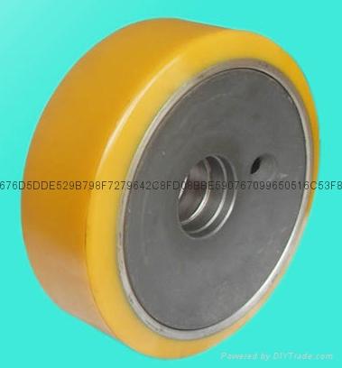 林德电瓶叉车轮子 4