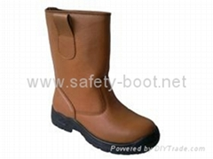 steel toe rigger shoes