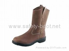 Crazy horse rigger boots