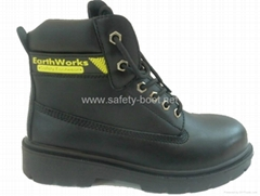 classical safety boots