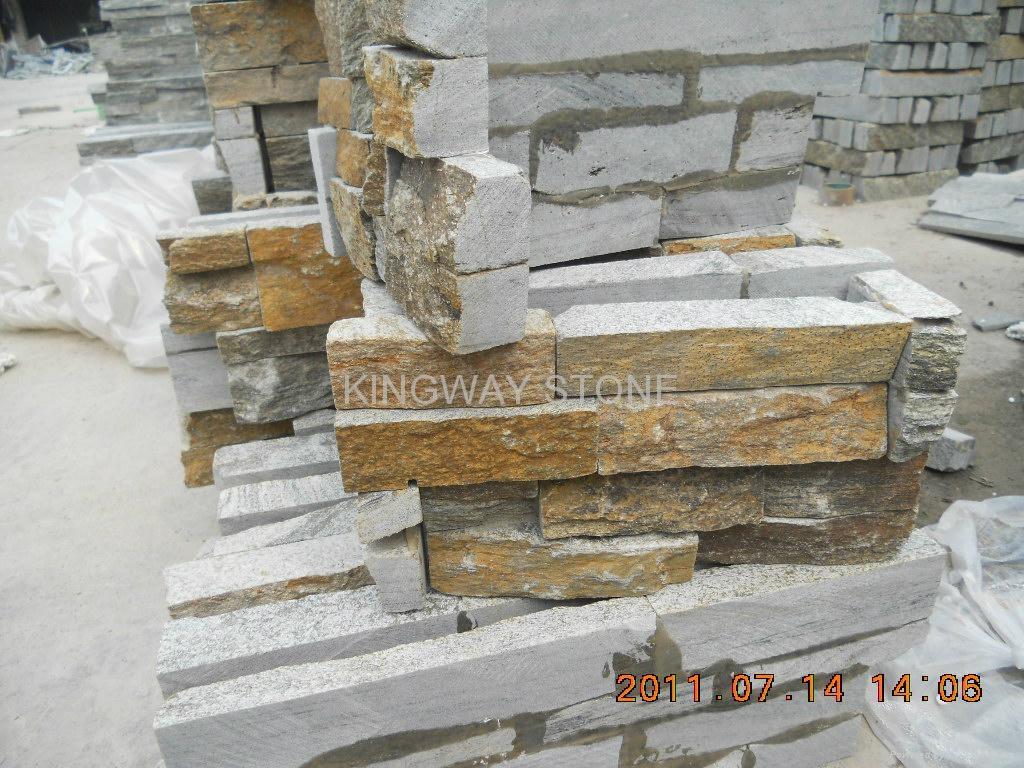 Granite Stone Product : Ledgestone corners rustic copper kingwaystone china