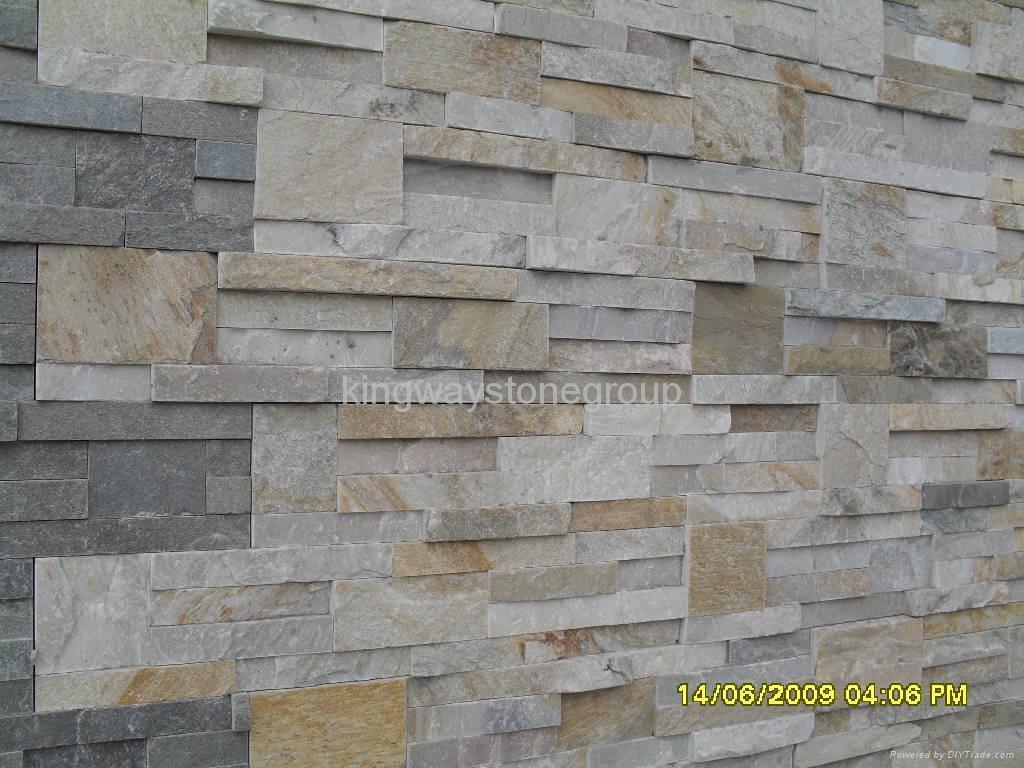Chiseled Ledgestone P014 P018 S1120 Kingway Stone