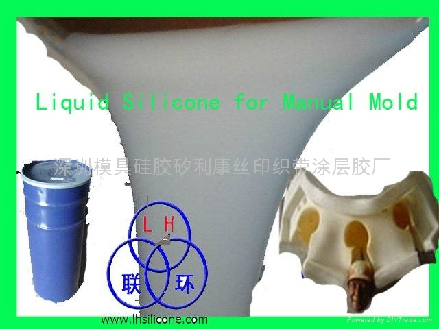 RTV-2 silicone rubber for concrete crafts mold making  3