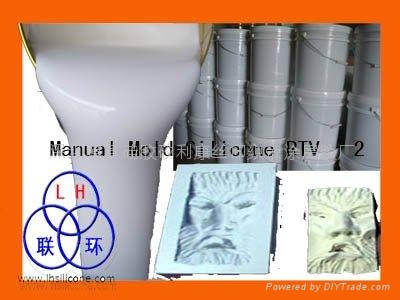 RTV-2 silicone rubber for concrete crafts mold making  5