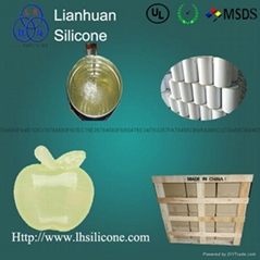 RTV-2 silicone rubber for gypsum column moulds making