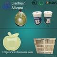RTV-2 liquid silicone rubber for resin