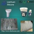 RTV-2 silicone rubber for concrete