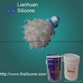 深圳供应磨砂灯泡专用液体硅橡胶