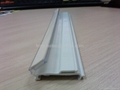 price strip for shelves,extrusion rail, PVC price holder,pvc profiles