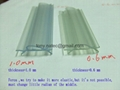 plastic PVC Profiles, PVC Price holder,plastic label for supermarket