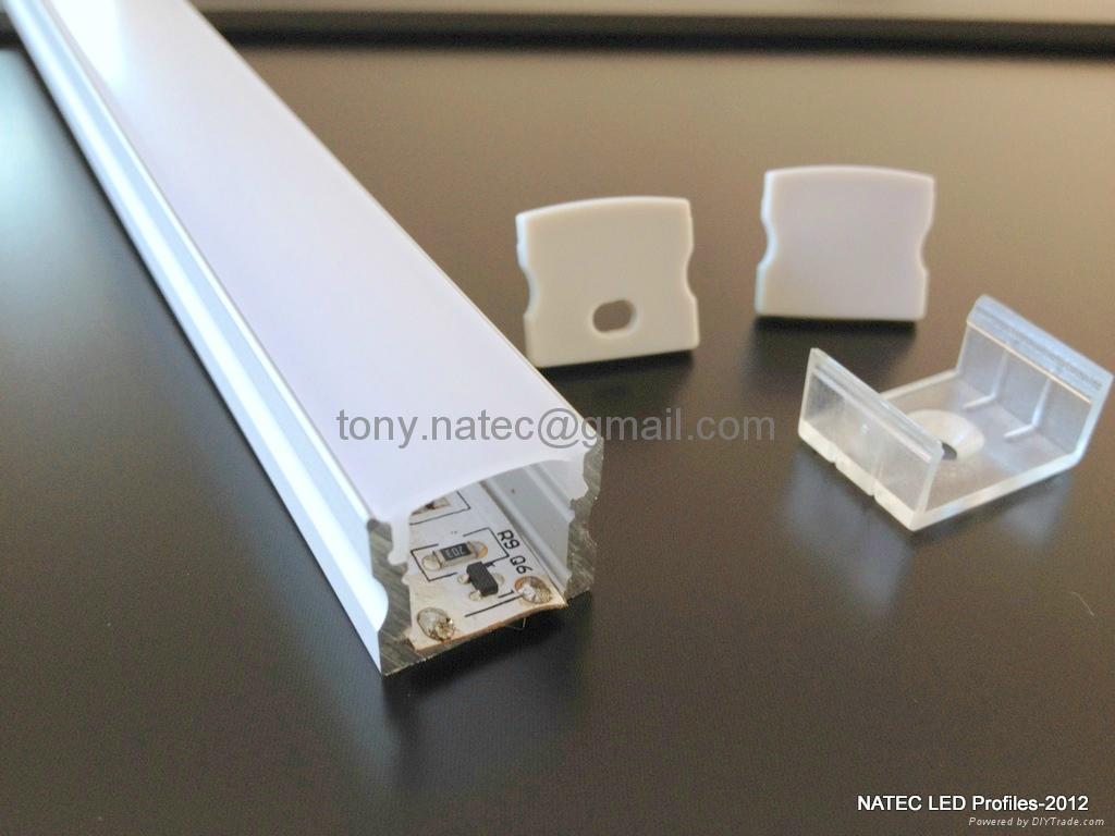 SLIM LINE 15mm profile,led strip profile,Surface mounted linear LED profile 3