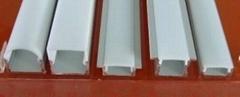 PC半透明燈罩,PC半霧燈罩,PC全霧燈罩,PC擠塑加工
