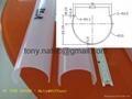 pc tube cover,led tube cover,PC diffuser