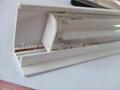 plastic PVC Profiles, PVC Price holder,plastic label for supermarket