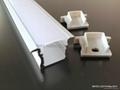 recessed 15mm LED Strip Profile,LED Strip Profile,storage shelves LED profiles