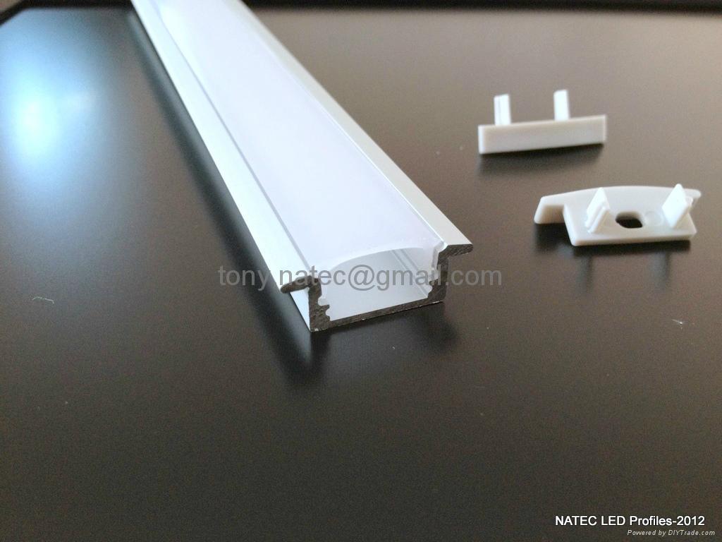 linear led profiles,RECESSED 7 LED Strip Profile,Aluminium Led Strike Profiles 2