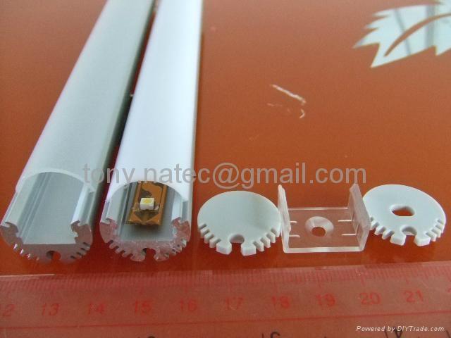 ... Led Cloth Rod Profile,LED Wardrobe Profile,closet Rod Extrusion  Aluminum 2 ...