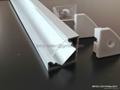 ALUMINIUM LED PROFILE FOR LED STRIPS - 45° - 2M 4