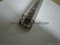 PC  clear cover,PC serration profile,led