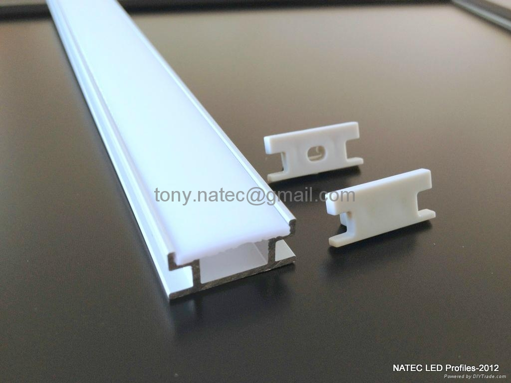 Led ground profile floor led profile led track profile for Floor profile
